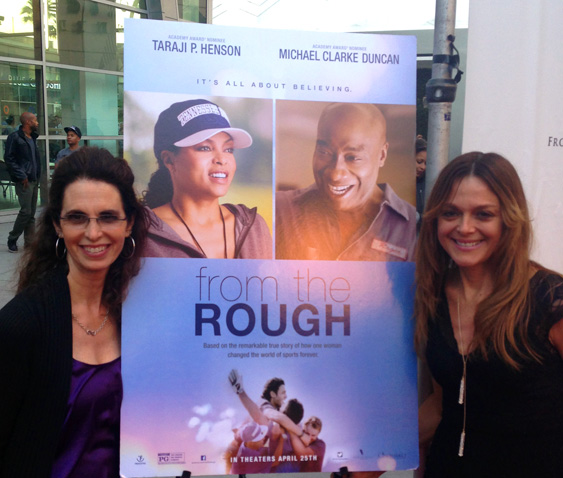 Lisa and Catherine at From the Rough screening